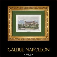 Castillo de Valençay - Talleyrand - Renacimiento - Abadia de Déols - Arte románico - Chateauroux (Indre - Francia)