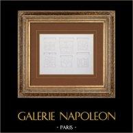 Vecchio Hôtel de Ville di Parigi - Piano terra - Corte d'onore - Soffitti di Gallerie