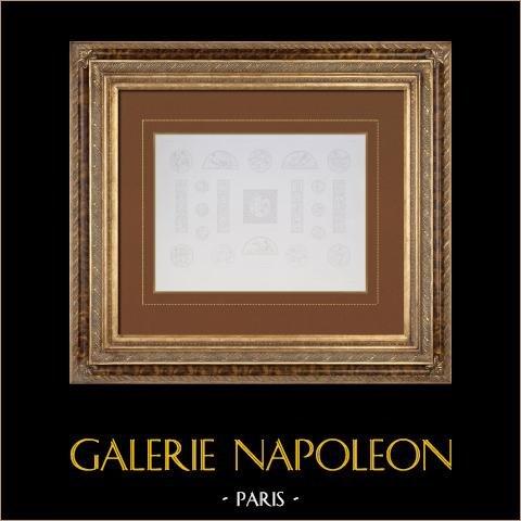 Antyczny Paryż Ratusz  - Apartamenty - Dekoracja - Obrazy - Witrines |