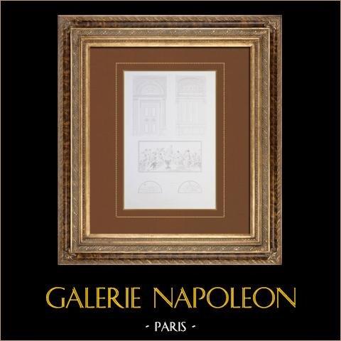 Zabytkowy Ratusz w Paryżu - Dekoracja - Wielkie Mieszkania świąteczne - Drzwi - Sufity Podwieszane - Sufity - Schopin |