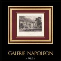 Neuilly Castle near Paris (France)