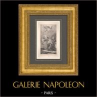 Peinture italienne - Esquisse - Vision de Sainte Anne (Giambattista Tiepolo)