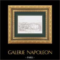 Celebration for the entry of plundered artworks - Champ de Mars (1798) - French Revolution - Napoleonic Campaign in Italy