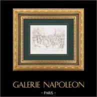 Napoleon Bonaparte - Napoleonic Wars - Napoleon in the Camp of Boulogne (1804) - Legion of Honour