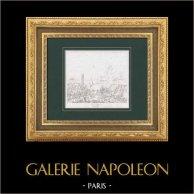 Napoléon Bonaparte - Bataille de Ratisbonne ou de Regensburg (1809) entre la France et l'Autriche - Napoléon Blessé