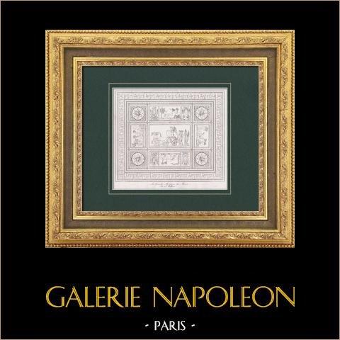 Wielka Mozaika Muzeum - Alegoria - Zwycięstwa Napoleona i (Francesco Belloni) |