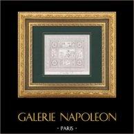 La Grande Mosaïque du Musée - Allégorie - Victoires de Napoléon Ier (Francesco Belloni)
