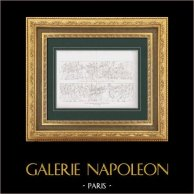 Bas-reliefs - Colonne Vendôme - Paris - Guerres napoléoniennes - Campagne d'Autriche - Maréchal Ney (1805)