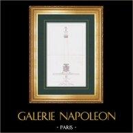 Zuil van de Grande Armée - Colonne Napoleone - Napoleon I - Boulogne-sur-Mer (Frankrijk)