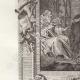 DETAILS 02   Philip II Augustus and Hermit Bernard of Vincennes (1181)