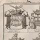 DETAILS 01 | Heraldry - Coat of Arms - Escutcheon - Encyclopédie Méthodique - Diderot's Encyclopédie - Pl.22