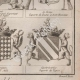 DETAILS 06 | Heraldry - Coat of Arms - Escutcheon - Encyclopédie Méthodique - Diderot's Encyclopédie - Pl.22