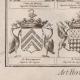 DETAILS 07 | Heraldry - Coat of Arms - Escutcheon - Encyclopédie Méthodique - Diderot's Encyclopédie - Pl.22