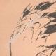 DETAILS 01   Japanese art - Sketch - Squirrel and Crane (Tatshibana-Morikouni)