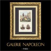 Contrebandiers des Pyrénées - Portraits - Bertrand Clauzel (1772-1842) - Pierre Bayle (1647-1706)