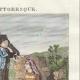 DETAILS 03   French Regional Costumes - Corsica - Portraits - Pascal Paoli (1725-1807) - Letizia Bonaparte (1750-1836)