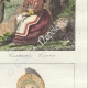 DETAILS 04   French Regional Costumes - Corsica - Portraits - Pascal Paoli (1725-1807) - Letizia Bonaparte (1750-1836)