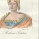 DETAILS 06   French Regional Costumes - Corsica - Portraits - Pascal Paoli (1725-1807) - Letizia Bonaparte (1750-1836)