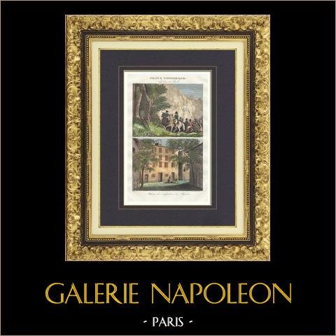 Dom Napoleona Bonaparte - Narodziny Napoleona Bonaparte w 1769 (Ajaccio - Korsyka) |