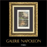Napoleon Bonaparte's House - Birth of Napoleon Bonaparte in 1769 (Ajaccio - Corsica)