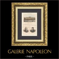 Hôtel des Monnaies (Jacques Denis Antoine) - Paris - Retratos - Cambon (1756-1820) - Prieur-Duvernois (1763-1832)