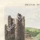 DETAILS 01 | Ruins of Lehon Castle in Dinan - View of Saint Brieuc (Côtes d'Armor - France)
