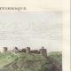 DETAILS 04 | Ruins of Lehon Castle in Dinan - View of Saint Brieuc (Côtes d'Armor - France)