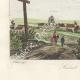 DETAILS 07 | Ruins of Lehon Castle in Dinan - View of Saint Brieuc (Côtes d'Armor - France)