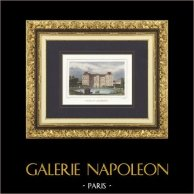 Vista de Paris - Palácio do Luxemburgo - Palais du Luxembourg (França)