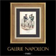 Soldat Napoléonien - Uniforme - Garde Impériale - Tirailleur-Chasseur - Flanqueur-Chasseur