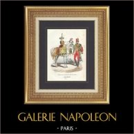 Napoleonic Soldier - Uniform - Imperial Guard - Timbalier - Drum on Horse - Vieille Garde