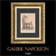 Sculpture Italienne - Groupe en marbre - Fontaine - Jardin de Boboli - Giardino di Boboli - Florence (Valerio & Giovanni Simone Cioli)