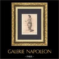 Italian Sculpture - Allegory - Prudence - Boboli Gardens - Giardino di Boboli - Florence (Giovanni Cacchini)