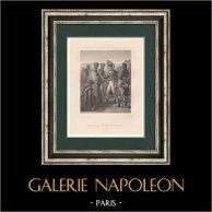 Napoléon Bonaparte  - Les Cénobites du Mont Sinaï - Campagne d'Égypte (1798)