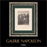 Napoleão Bonaparte - Cenobitas de Monte Sinai - Campanha de Egipto (1798)