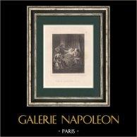 Napoléon Bonaparte - Prédiction de l'Archidiacre Lucien Bonaparte en 1779 - Mort (Ajaccio - Corse)