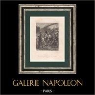 Napoleon Bonaparte in the Faubourg Saint-Antoine - Paris (1813)