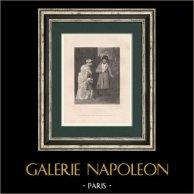 Napoléon Bonaparte et l'Egyptienne
