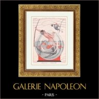 La Vie Parisienne - The Parisian Life - Golden Twenties - Art Deco - Eroticism - La Proie Pour l'Onde