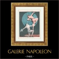 La Vie Parisienne - Années Folles - Art Déco - Erotisme - Le Rêve de Pierrot Réalisé