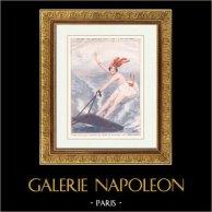La Vie Parisienne - The Parisian Life - Golden Twenties - Art Deco - Eroticism - Le Surf-Riding