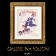 A Vida Parisiense - La Vie Parisienne - Felizes Anos Vinte - Art Déco - Erotismo - L'Amour est Mon Moteur