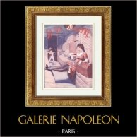 La Vie Parisienne - The Parisian Life - Golden Twenties - Art Deco - Eroticism - Un Attentat en Chemin de Fer