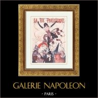 La Vie Parisienne - The Parisian Life - Golden Twenties - Art Deco - Eroticism - Commedia dell'arte - Harlequin