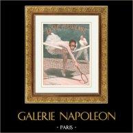 La Vie Parisienne - The Parisian Life - Golden Twenties - Art Deco - Eroticism - Sport - Tennis - Une Balle qui n'est pas Perdue pour Tout le Monde