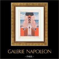 La Vie Parisienne - The Parisian Life - Golden Twenties - Art Deco - Eroticism - Beach - L'Arc de Triomphe du Gigolo