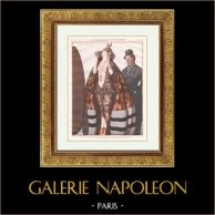 La vie Parisienne - Parisowskie życie - Złote Dwudziestki - art Deco - Erotyka - le Déshabillé de Théatre