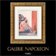 La Vita Parigina - La Vie Parisienne - Gli Anni '20 - Art Déco - Erotismo - Un Toutou Qui ne se Coiffe pas à la Chien