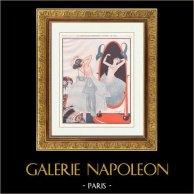 La Vita Parigina - La Vie Parisienne - Gli Anni '20 - Art Déco - Erotismo - Le Rafraichissement Après le Bal