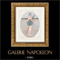 La vie Parisienne - życie Pariserskie - Złote Dwudziestki - art Deco - Erotyzm - la Parisienne aux Champs